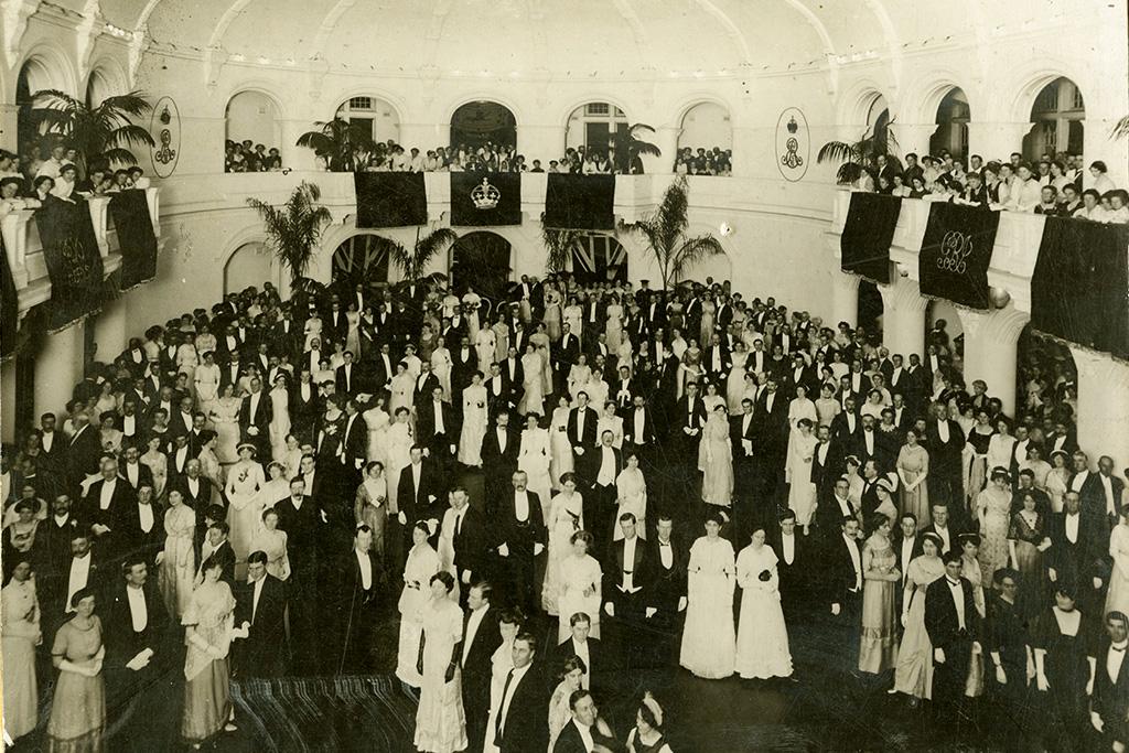 Govt House Ballroom, 1910