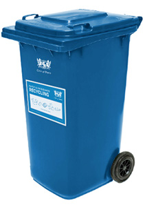 Paper and Cardboard Recycling  bin