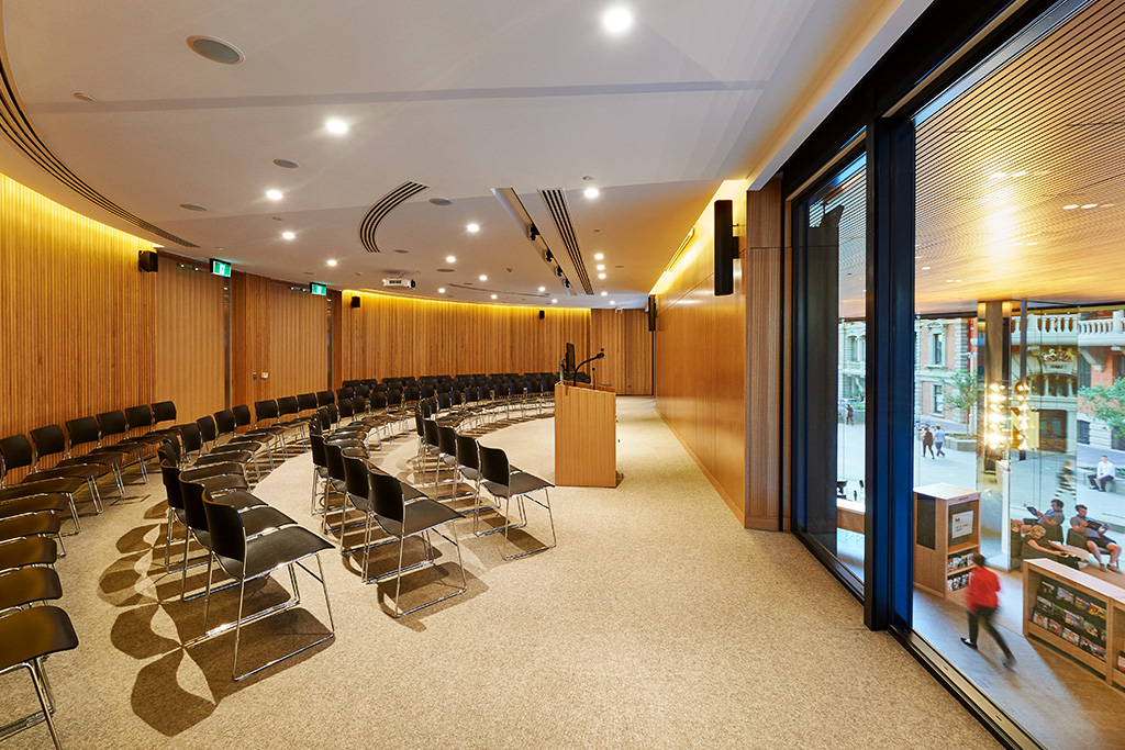 The Auditorium at the City of Perth Library