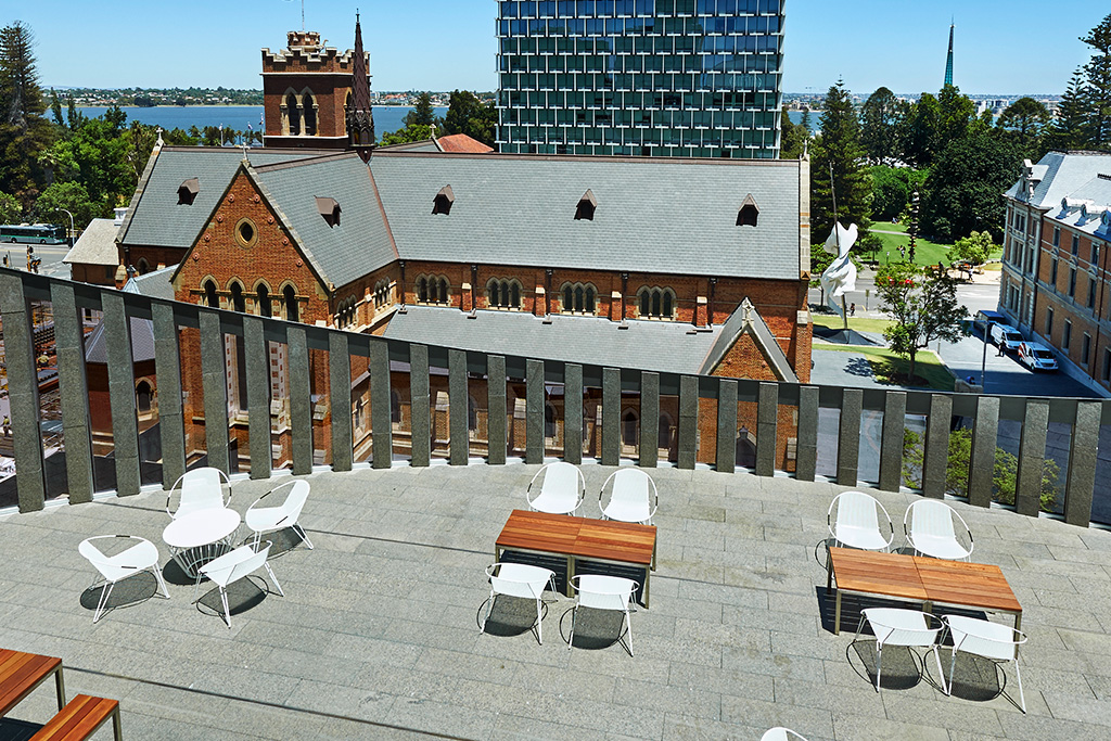The Terrace at the City of Perth Library