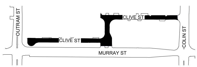 Clive St Road Closure November 2018
