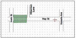 Road Closure Hay St 17 to 18 November